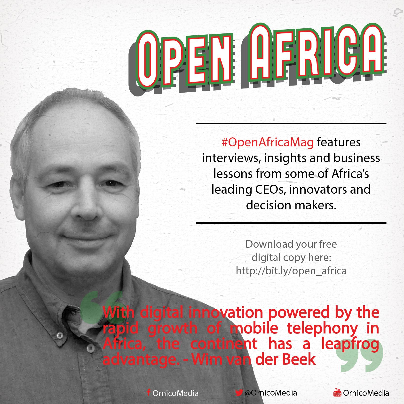 Open Africa: Wim van der Beek