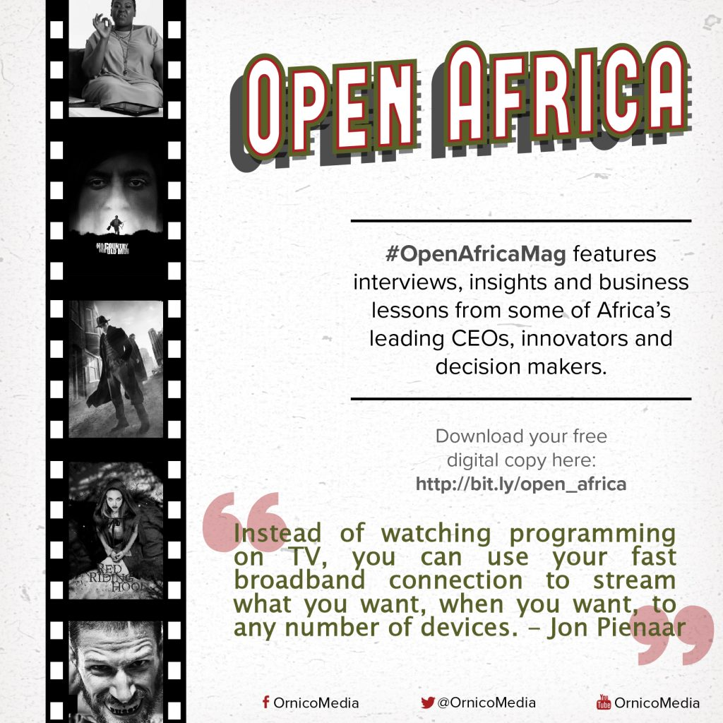 Jon Pienaar on #OpenAfricaMag