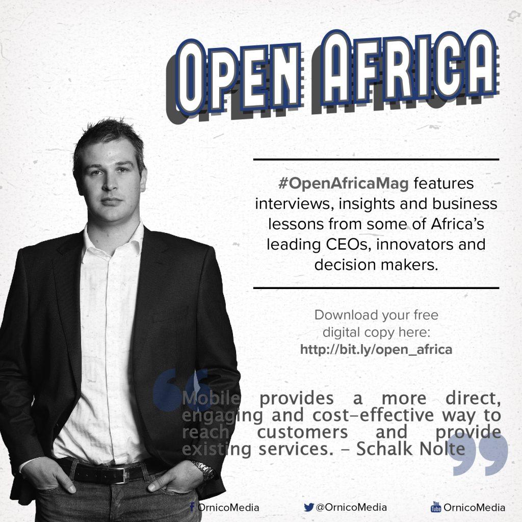 Schalk Nolte on #OpenAfricaMag