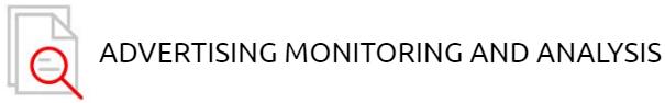 ADVERTISING MONITORING AND ANALYSIS